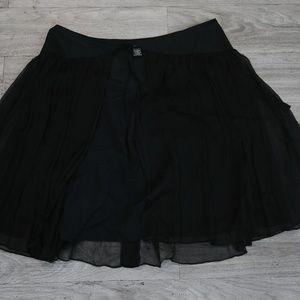 BCBG Black Skirt Size 6